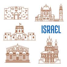 Israel Architecture Landmarks, Sightseeing