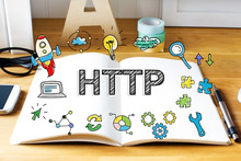 Http Concept With Notebook