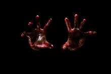 Halloween Theme:Bloody Hands ,...