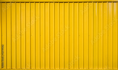 Yellow box container striped line textured Wallpaper Mural