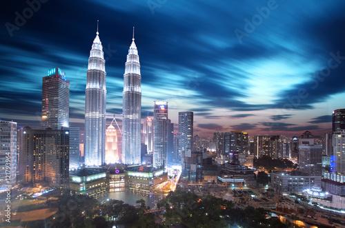 Canvas Prints Kuala Lumpur Kuala Lumpur, Malaysia skyline.