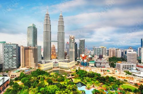 Photo  Kuala Lumpur, Malaysia skyline.