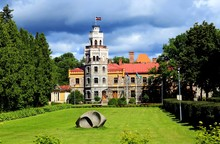 Sigulda Castle Ruins And The N...