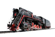 Locomotive Isolated
