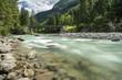Austria, Vorarlberg, Lech Valley, Lech river