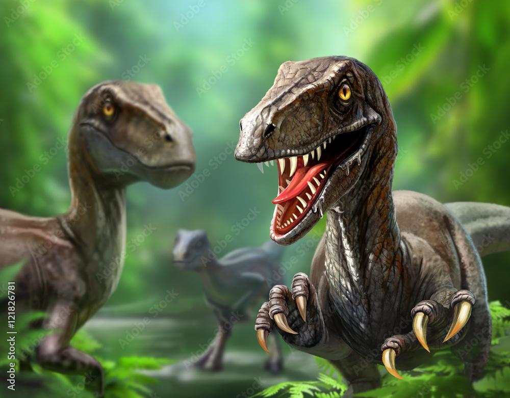 Fotografering  dinosaurs