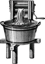 Vintage Illustration Wash