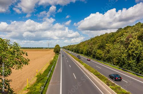 In de dag Route 66 Dormagen Horrem - BAB 57