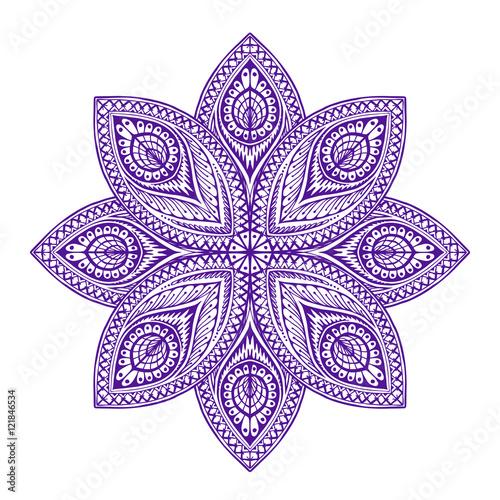 mandala-piekny-wzor-okragly-ilustracji-wektorowych-w-stylu-etnicznym
