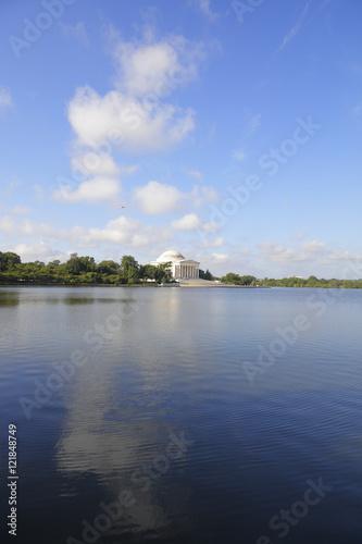 Fotografie, Obraz  Thomas Jefferson Memorial