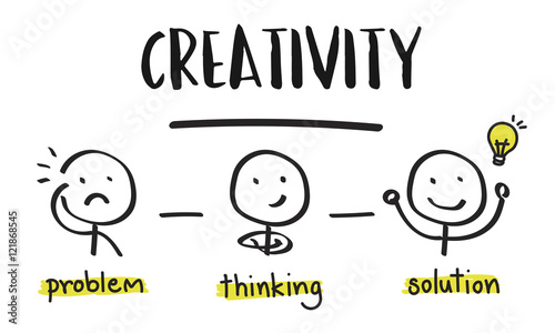 Fotografía  Creativity Thinking Brainstorm People Concept