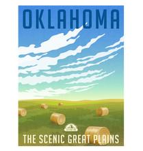 Oklahoma, United States Retro ...