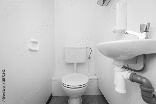 фотография  Kontener sanitarny wc umywalka