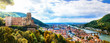 canvas print picture Panoramic view of beautiful medieval town Heidelberg, Germany