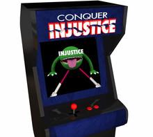 Beat Injustice Conquer Unfair Justice System Video Game 3d Illus