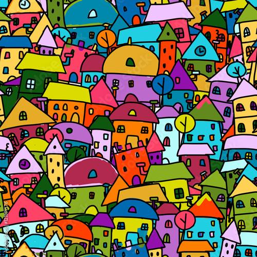 wzor-dla-dzieci-z-bardzo-kolorowymi-domkami