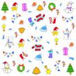 Doodle christmas backgrounds vector art