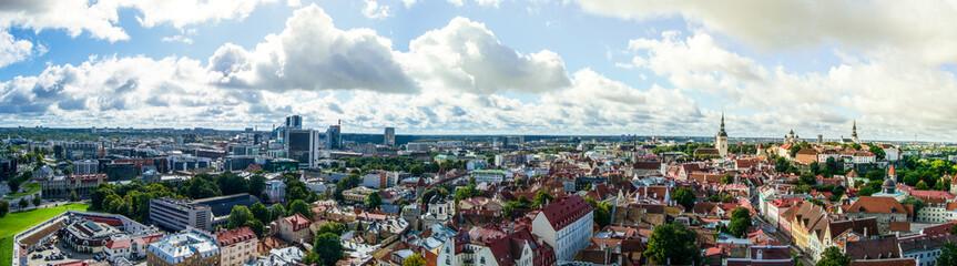 Panorama von Tallinn