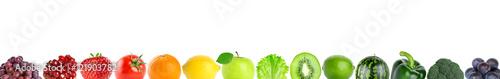 Poster Légumes frais fruits and vegetables