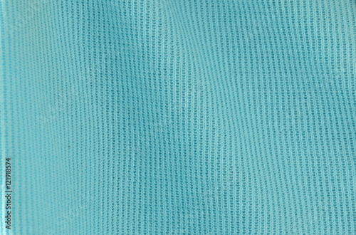 blue spandex fabric texture and background Fototapet
