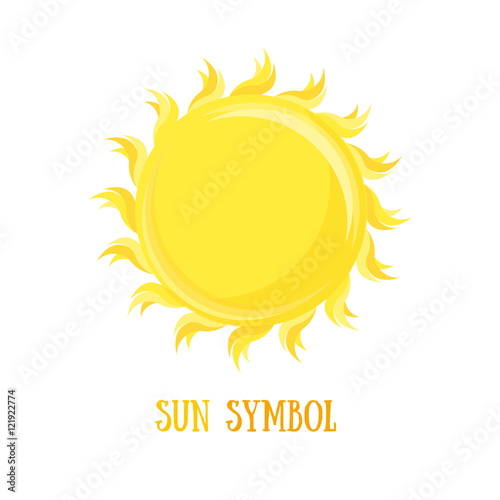 Symbol Of The Sun Vector Buy This Stock Vector And Explore
