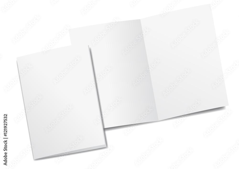 Fototapeta mockup Broschüre