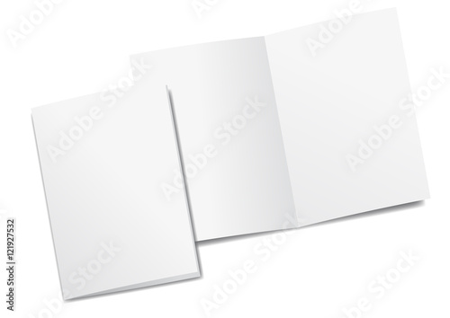 Fotografía  mockup Broschüre