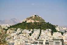 Rooftop View Of Athens City, T...