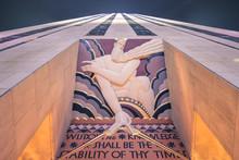 Rockefeller Center Scripture