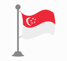 Singapore Flag Mast