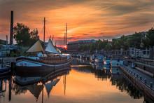 Amersfoort Harbour (Sunset)