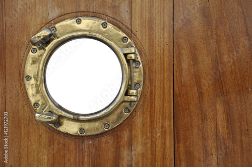 Fototapeta  porthole with isolated window