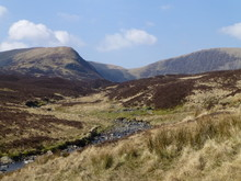 View Of Hills And Moorland At ...