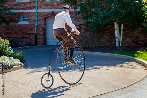 Recess Fitting Bicycle Bike Rider