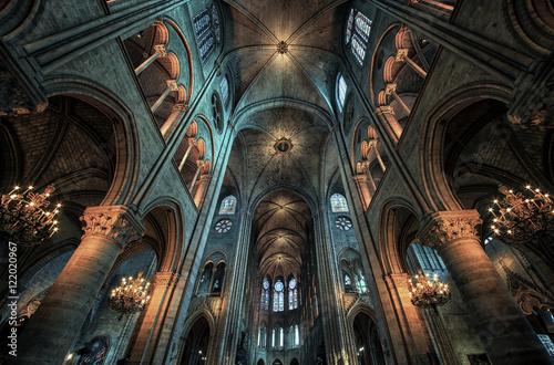 Fotografie, Obraz  Cathedral Notre Dame in Paris