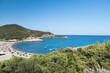 Su Portu beach in Chia, Sardinia, Italy