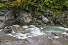 Rapids Of River Prut