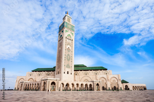 Canvas Prints Morocco Hassan II Mosque