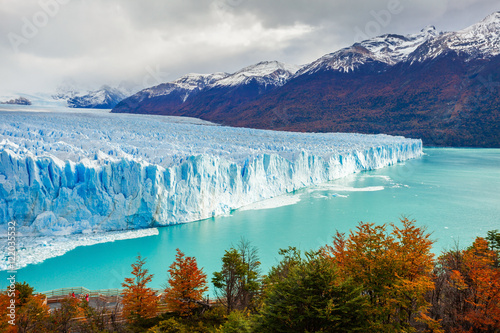 Photo sur Aluminium Antarctique The Perito Moreno Glacier