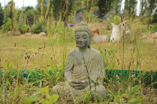 Buddha Im Garten Buy This Stock Photo And Explore Similar Images