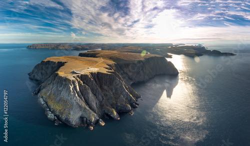 Fotografie, Obraz  North Cape aerial
