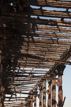 Old Rusty Pier In Guatemala Sh...