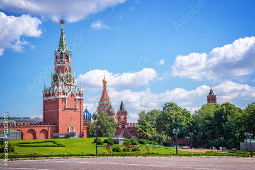 Moscow Kremlin tower, Russia Fototapeta