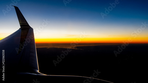 Fototapeta Cloumbia River Sunset obraz na płótnie