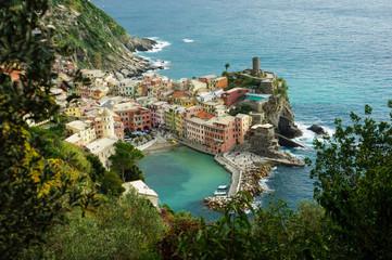 The Cinque Terre, Vernazza
