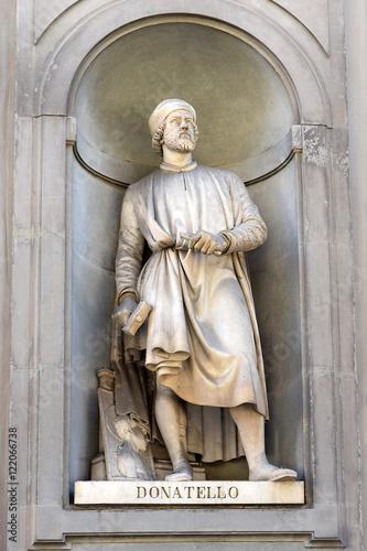 Fotografia Donatello statue, Florence