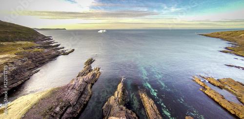 Obraz na płótnie Newfoundland Iceberg Cape Spear