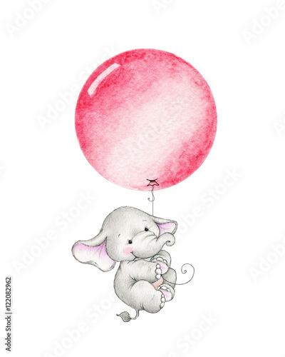 malutki-slonik-latajacy-na-czerwonym-balonie