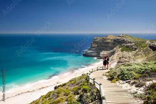 Obraz na plátně  Fußweg zum Kap der guten Hoffnung; Südafrika