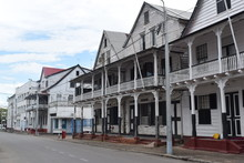 Duch Style Cityscape (World Heritage) At Paramaribo, Capital Of Suriname
